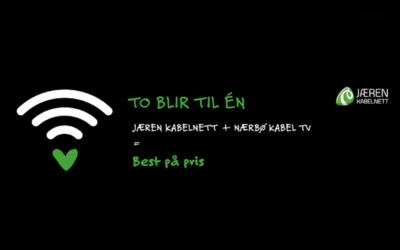 Jæren Kabelnett og Nærbø Kabel-TV fusjonerer